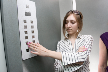 elevator manners & etiquette
